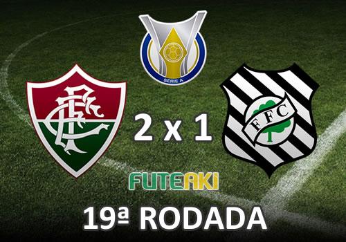 Veja o resumo da partida com os gols e os melhores momentos de Fluminense 2x1 Figueirense pela 19ª rodada do Brasileirão 2015