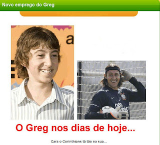 O novo emprego do Greg.