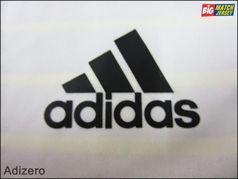 Logo Apparel Adidas Pada Jersey Club Adizero Adalah Sablon
