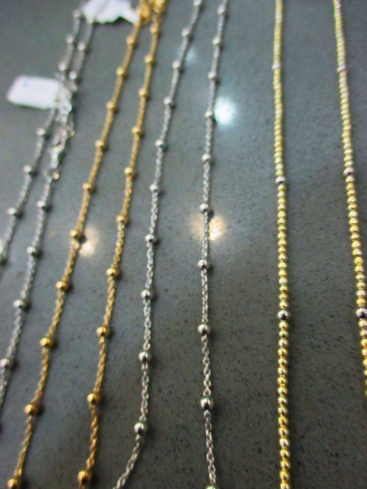Nuevas cadenas de plata para llevar con colgante o solas