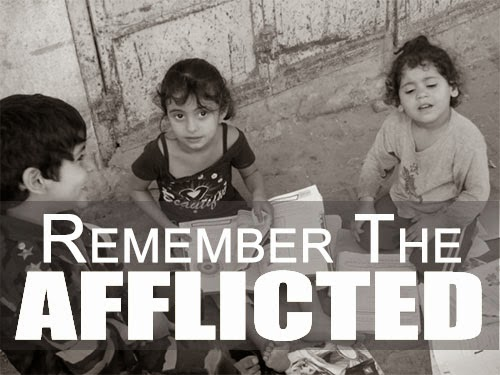Find Consolation by Remembering the Afflicted
