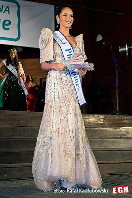 Miss Philippines Elaine Kay Moll wearing her national costume in Miss Supranational 2012 in Poland