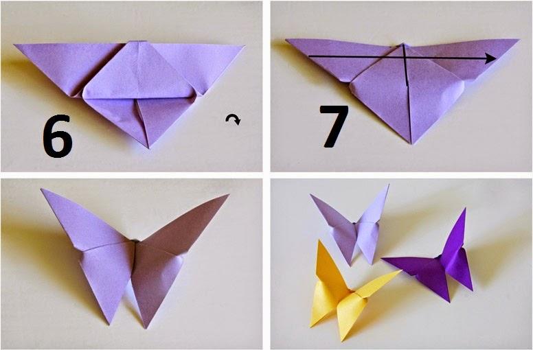 Iris Origami Instructions
