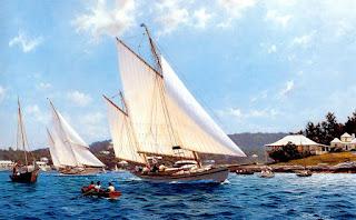 Oleos Barcos Antiguos