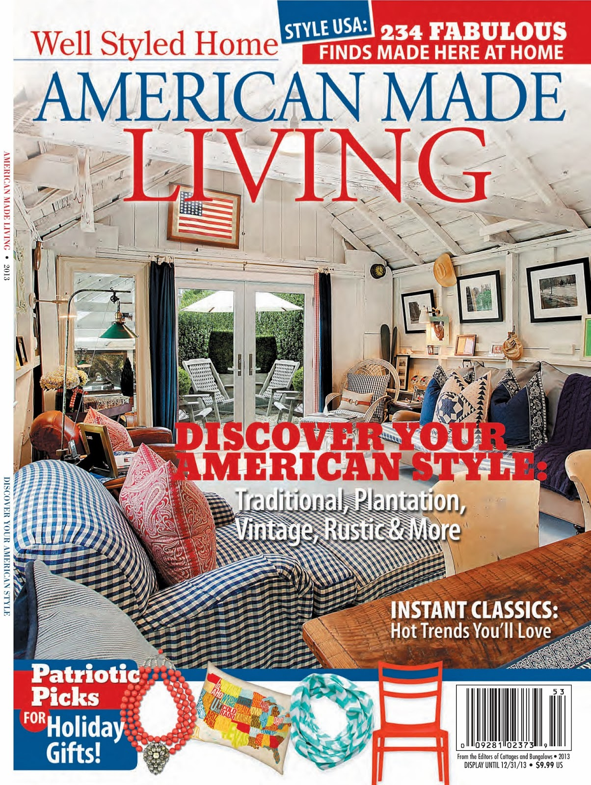 To you well styled homes american made living magazine issue well styled homes american made living magazine issue features animal blueprint companys american mutt print malvernweather Images