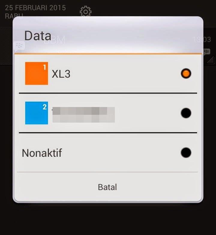 XL pilihan paket internet saya
