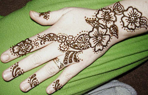 Mehndi Simple Arabic Designs For Hands : Best simple arabic mehendi design for diwali