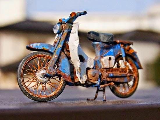 Xe Đồ Chơi Honda Cub Như Thật