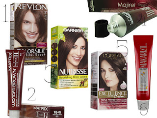 Pilihan Cat Rambut yang Bagus untuk Pewarna Rambut Sendiri