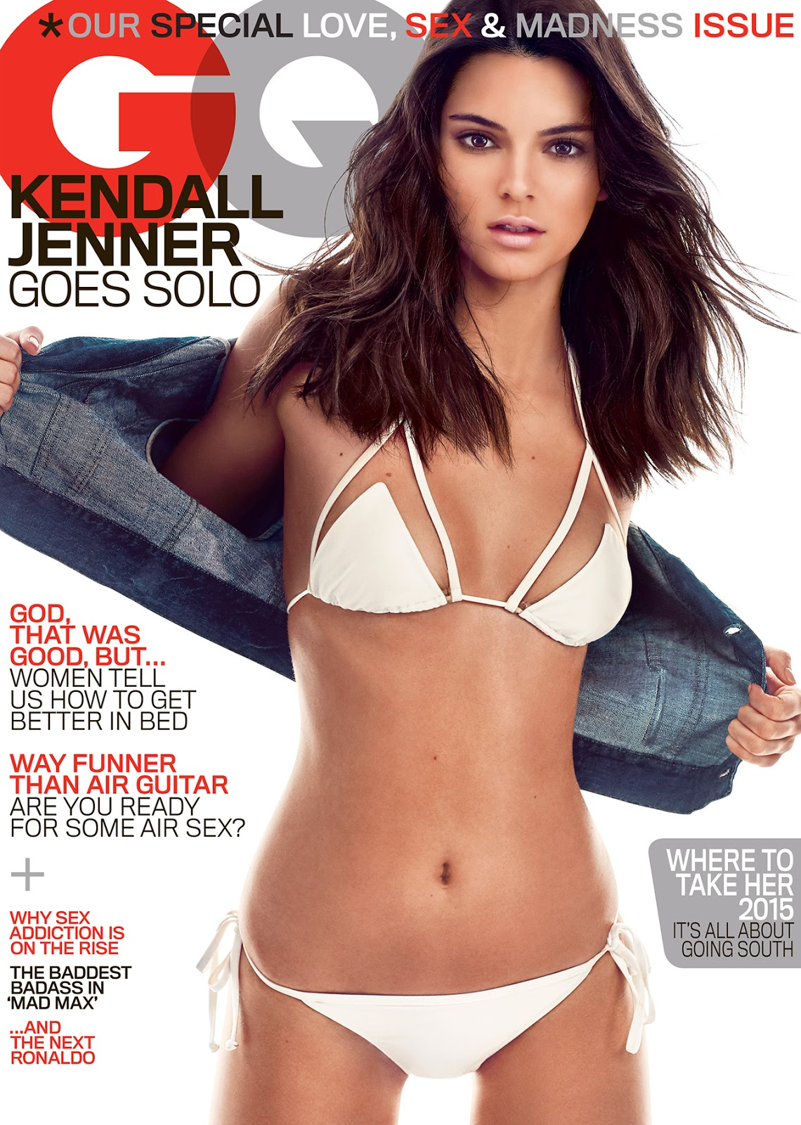 Kendall Jenner bares skin and curves for GQ May 2015