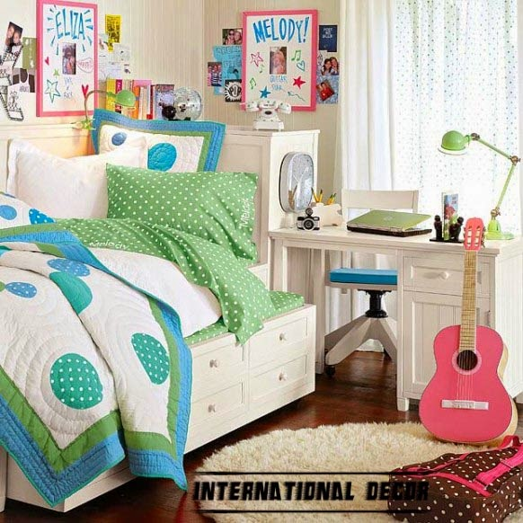 12 girls bedroom decor ideas furniture sets - Decorating bedroom furniture ...