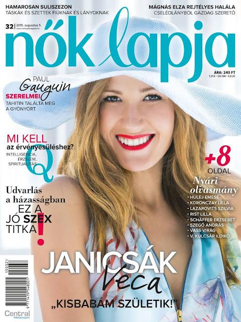 Singer @ Janicsak Veronika - Nok Lapja  Hungary, August 2015