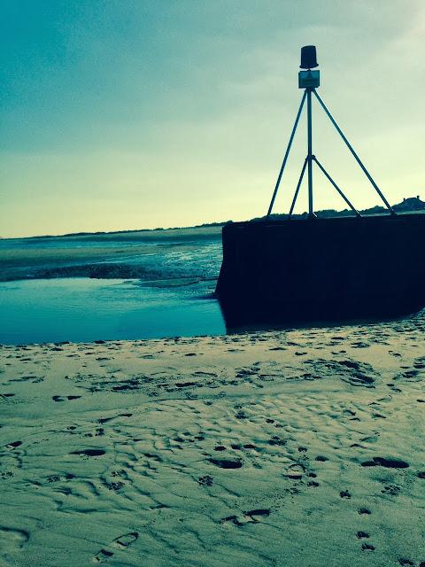 english beach scene