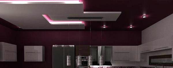 False ceiling pop designs with led ceiling lighting ideas for Decor zone false ceiling