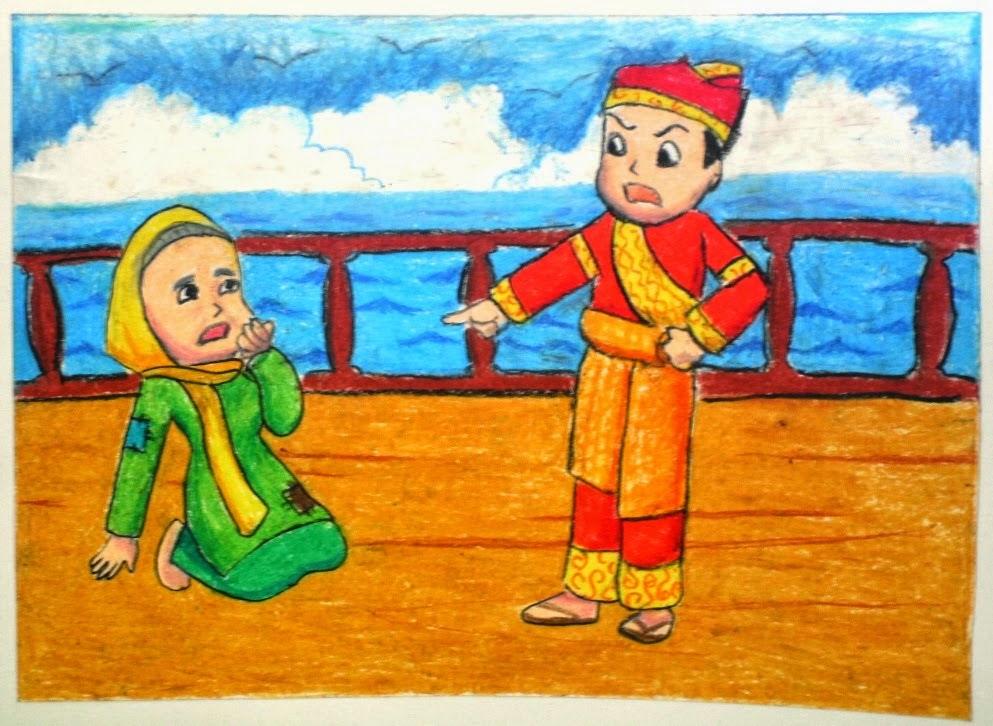 kumpulan cerita anak rakyat nusantara bergambar malin KUNDANG