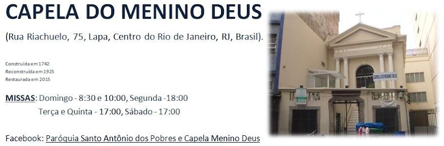 Capela do Menino Deus (Rio de Janeiro) - SITE OFICIAL