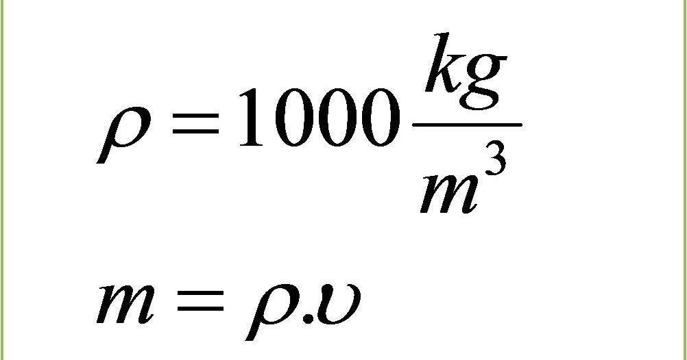 Mengapa 1 Liter Sama Dengan 1 Kilogram E Learning Sdn