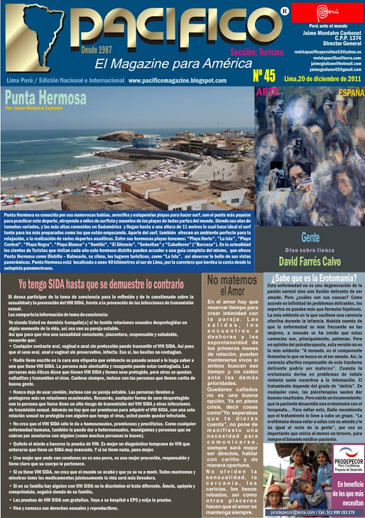 Revista Pacífico Nº45 Turismo