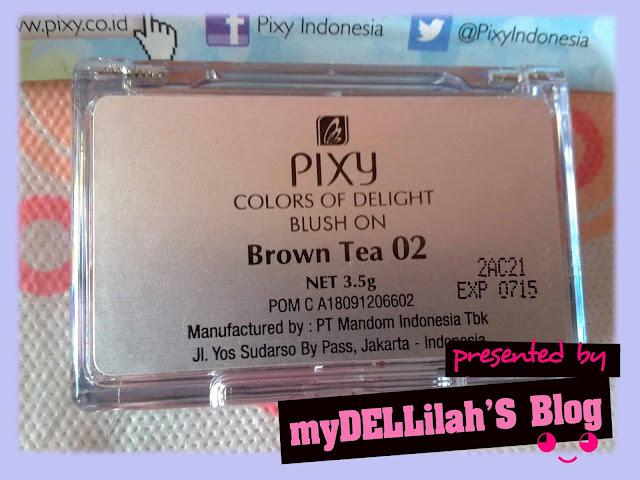 Pixy Blush on Brown Tea