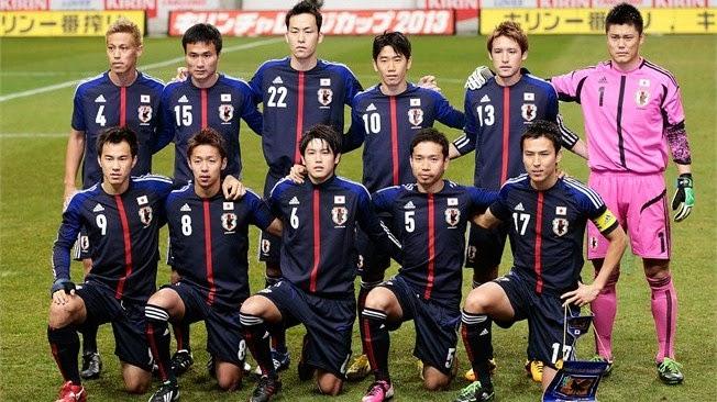 smk n 3 tegal Profil Skuad Jepang Piala Dunia 2014