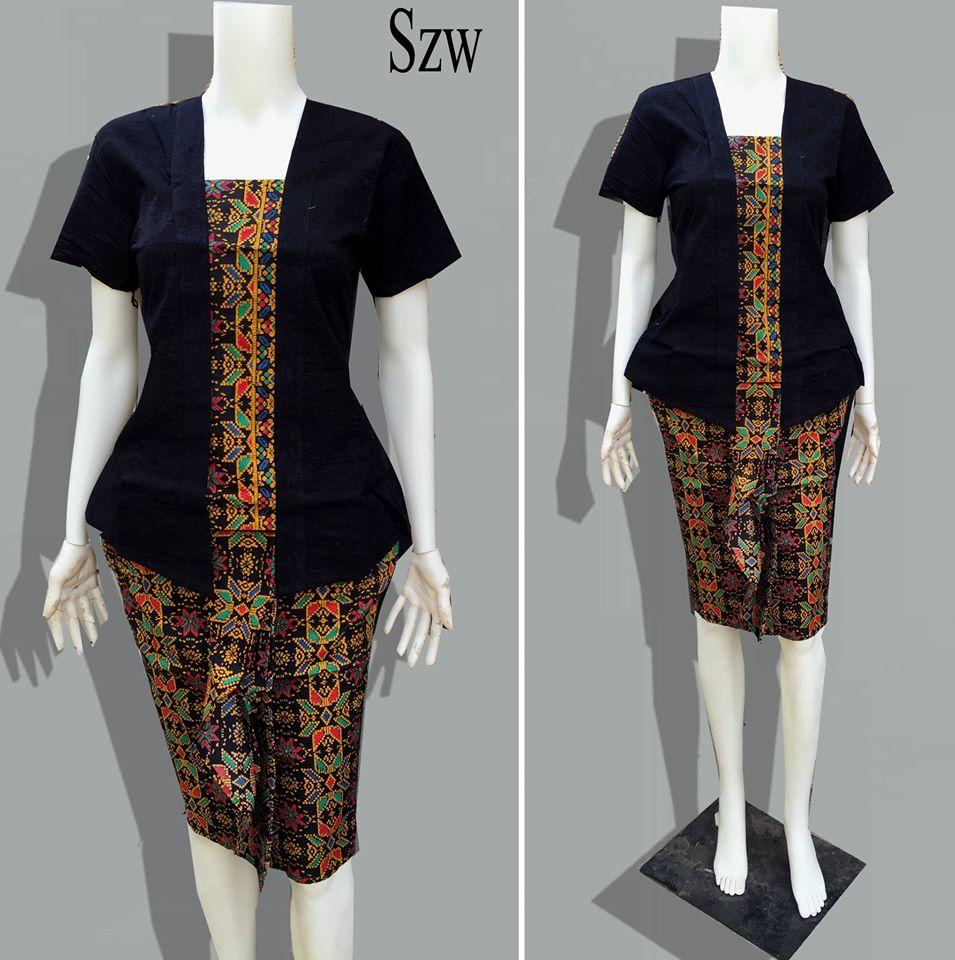Baju Batik Wanita Szw