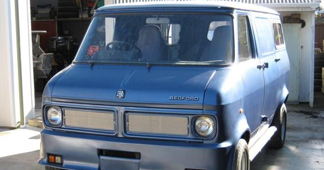 Bedford Cf2 Van For Sale 1976 Custom Cf In Nz