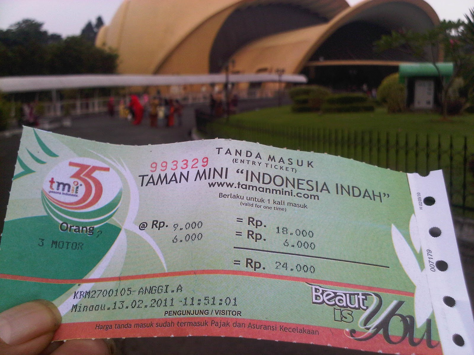 Cheap Ticket Of Taman Mini Indonesia Indah The Tracks Of Adventurer