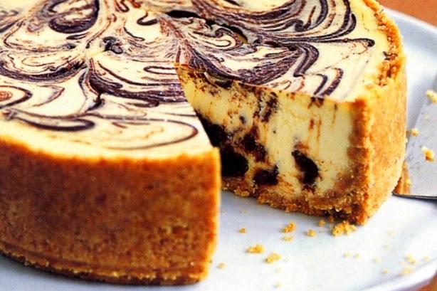 resepi kek marble coklat cheese