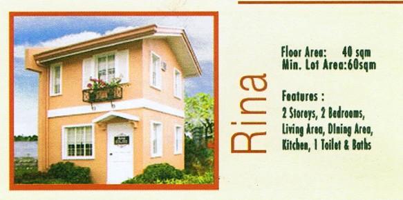 Camella Davao - Communal, Buhangin, Davao City - Rina model