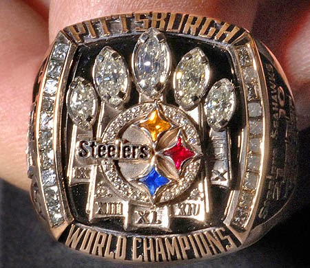Steelers 5th Super Bowl Ring