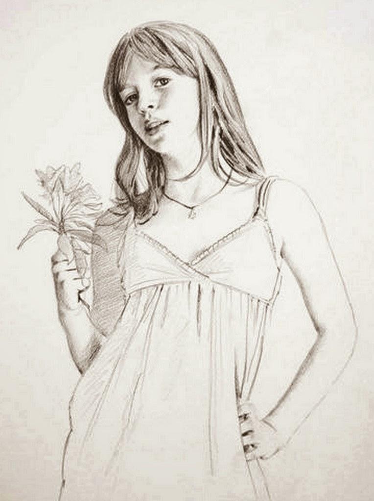 niñas-pintadas-con-lapiz