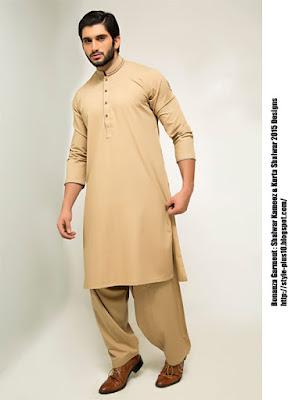 98625-beige-bonanza-shalwar-suit-collection-2015