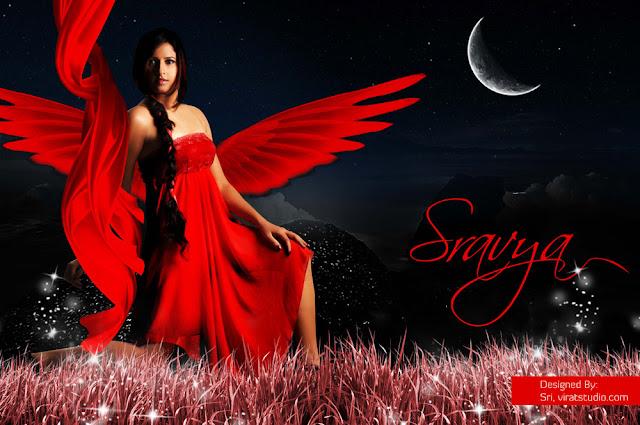 Stunning Sravya Reddy
