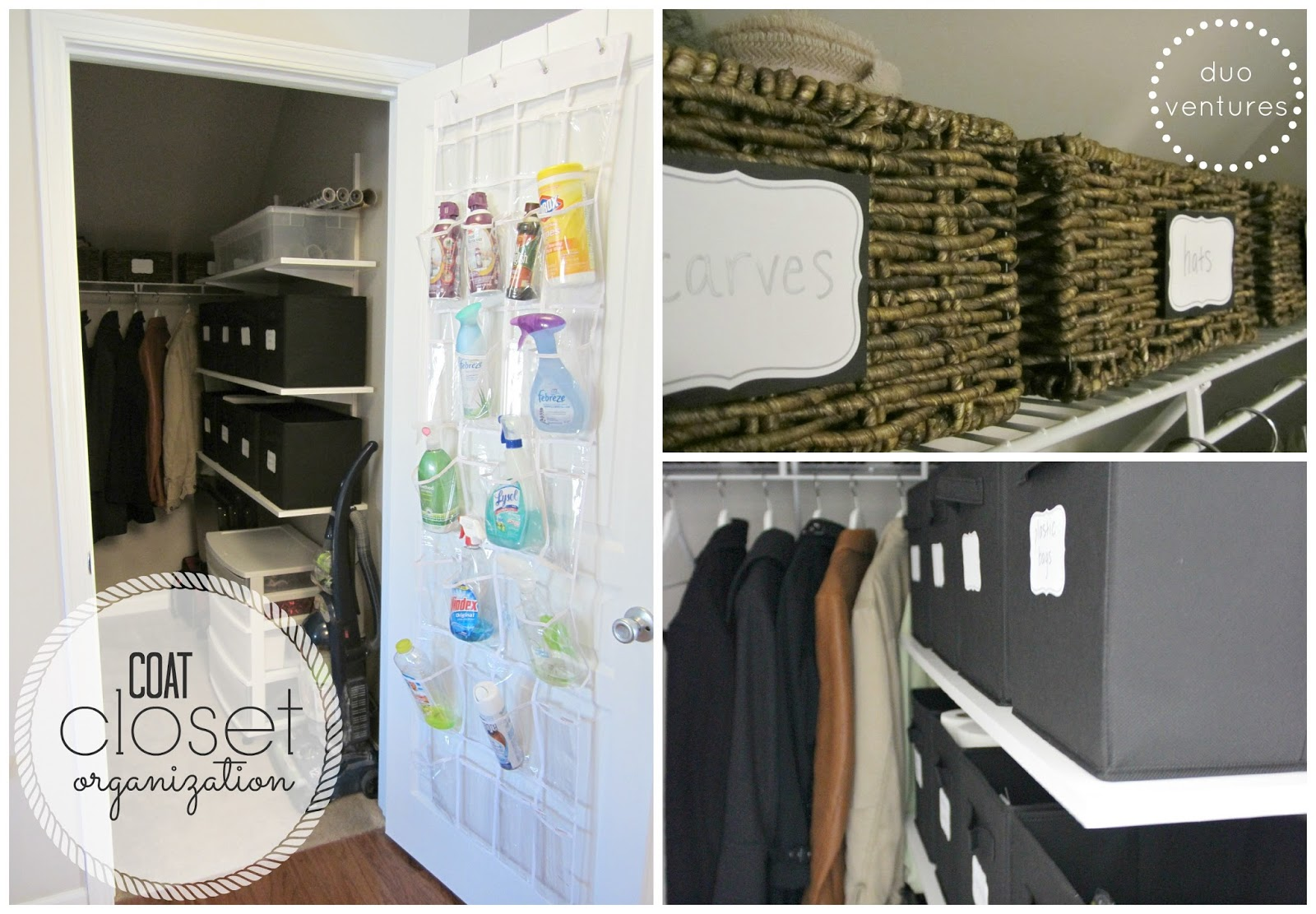 Organizing: The Coat Closet