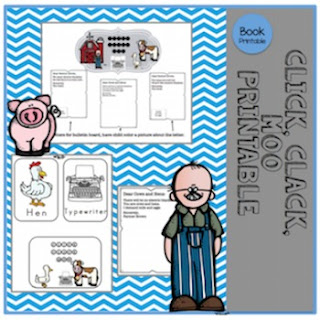 Preschool Printables Cows That