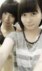 Hiwimi和Mabelline:)♥