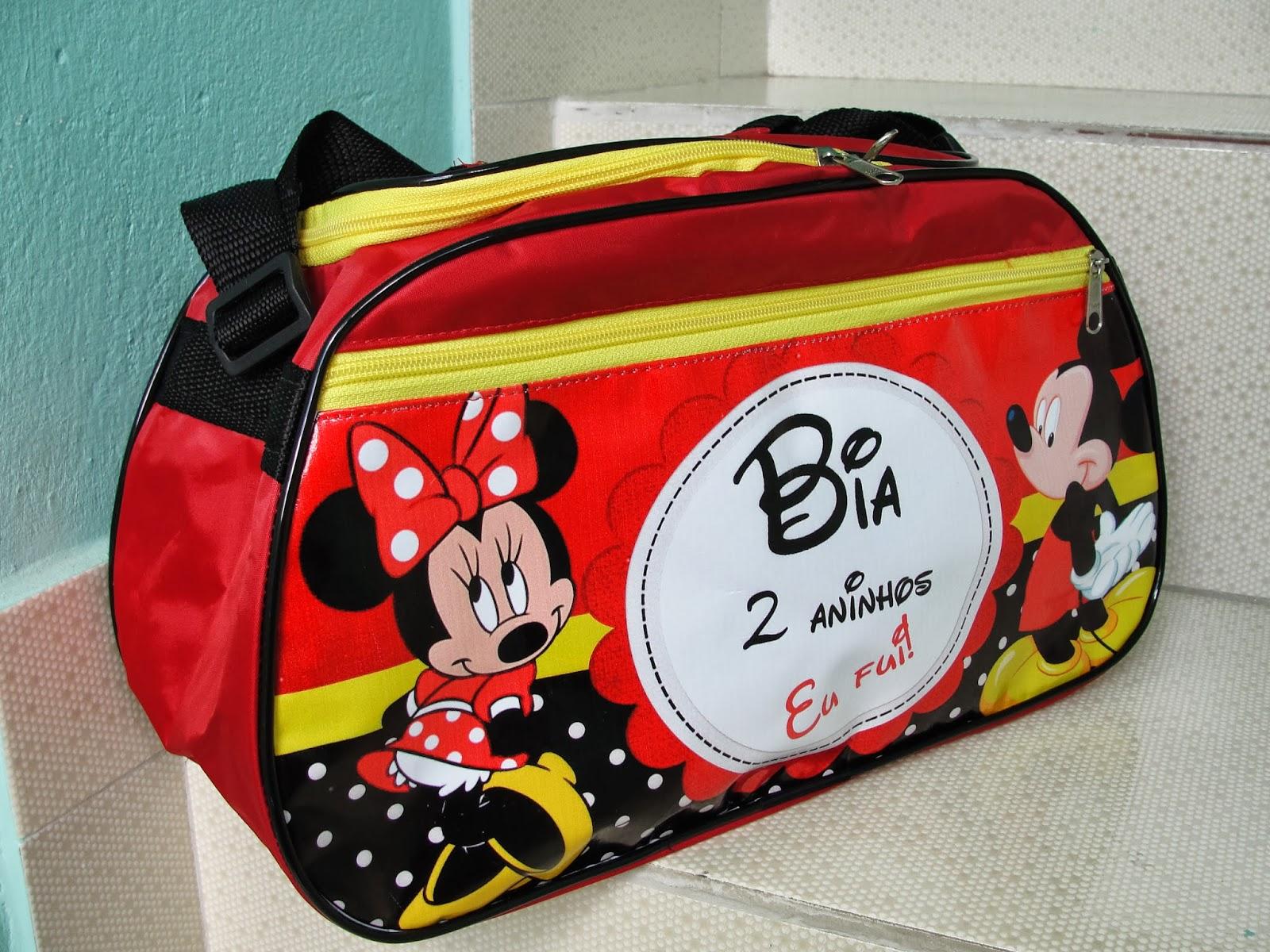 Bolsa De Festa Da Minie : Belissima bolsas bolsa para lembrancinha mickey e minnie