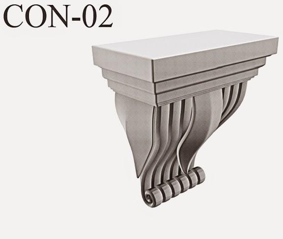 console arhitecturale din polistiren, pentru fatade case, profile decorative