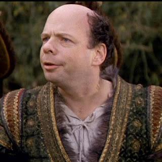 Wallace Shawn as Vizzini in Princess Bride