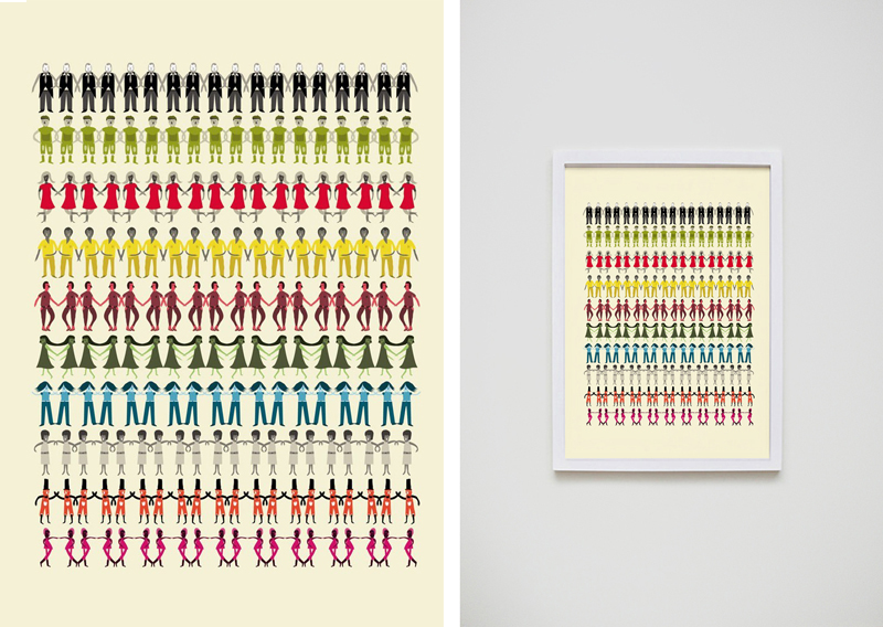 good design makes me happy  judy kauffman prints