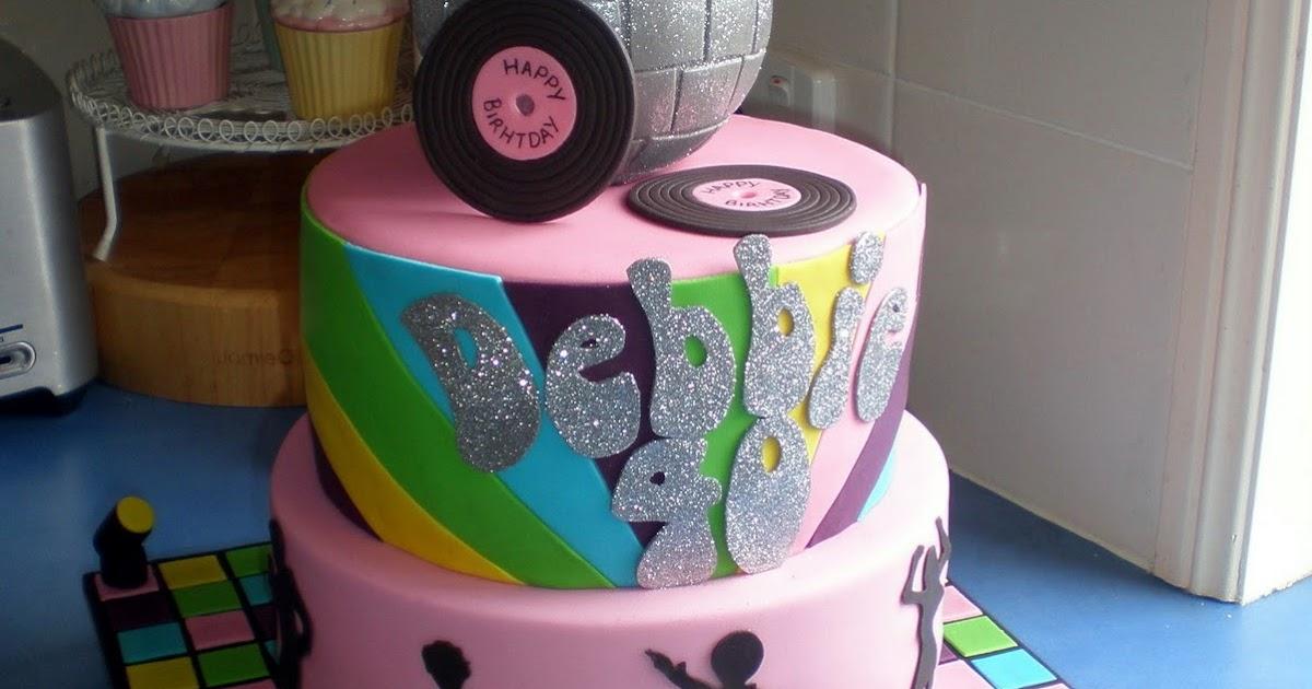 Sugar Siren Cakes Mackay 70s Disco Birthday Cake