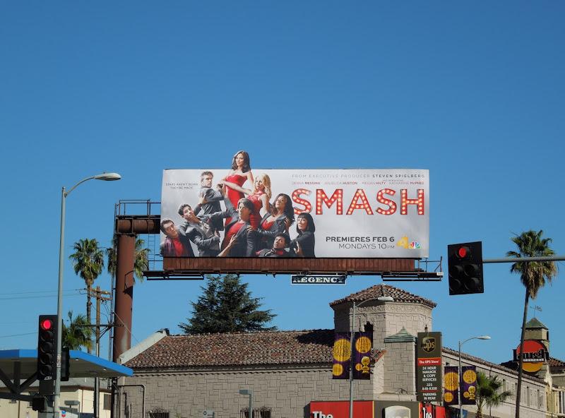 Smash NBC billboard