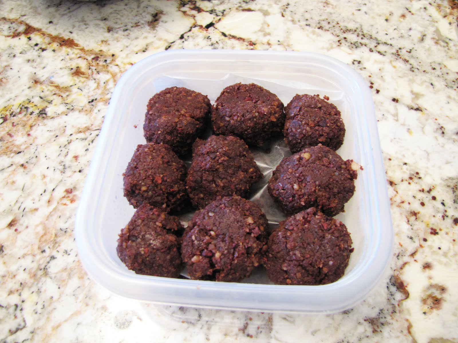 Orange Cacao Nut Balls