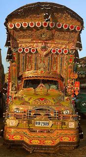 Beautiful Pakistani Truck Art