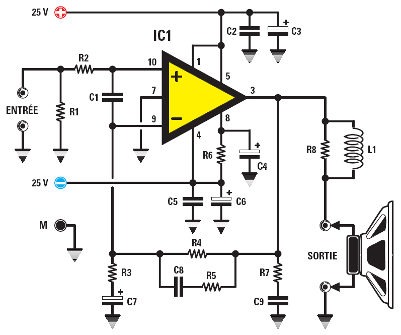 Circuit amplificateur