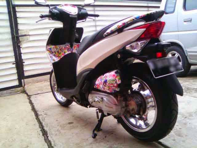 Honda Spacy Modifikasi