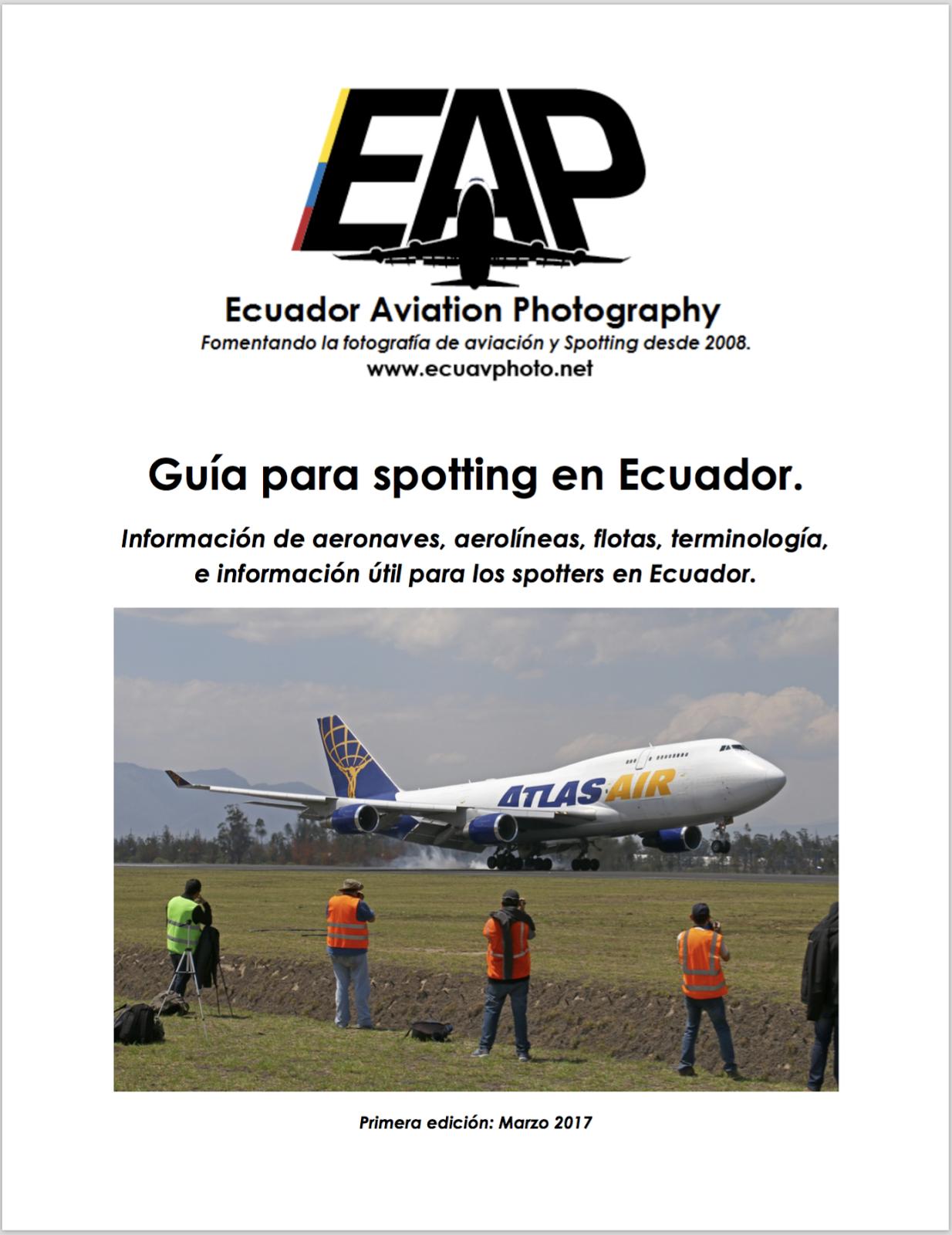 Guía para spotting en Ecuador.