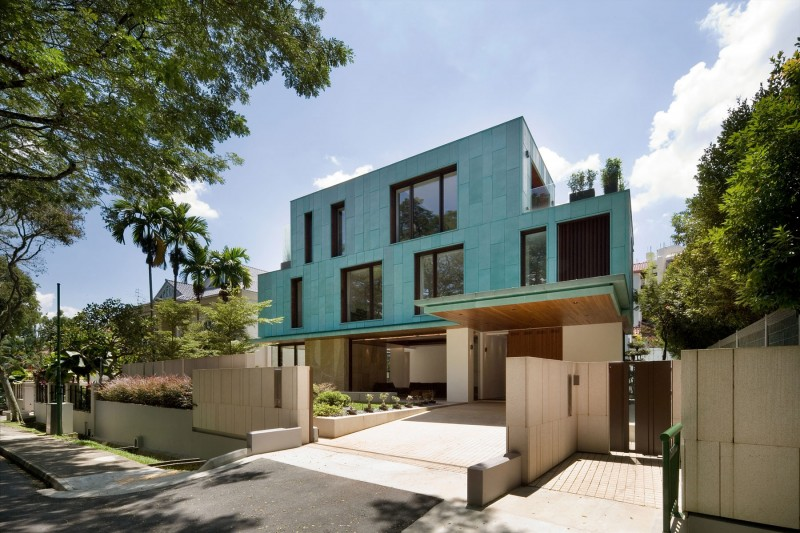 Singaporean architectural firm K2LD Architects has designed the Green ...