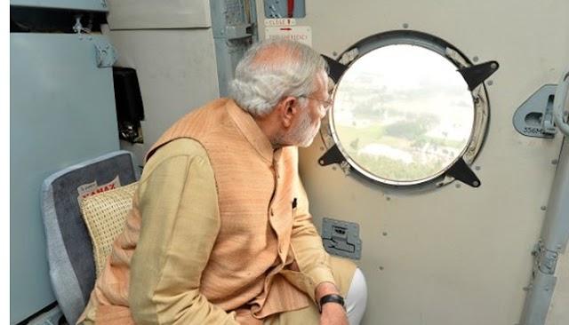 प्रधानमंत्री ने बाढ़ की स्थिति का लिया जायजा