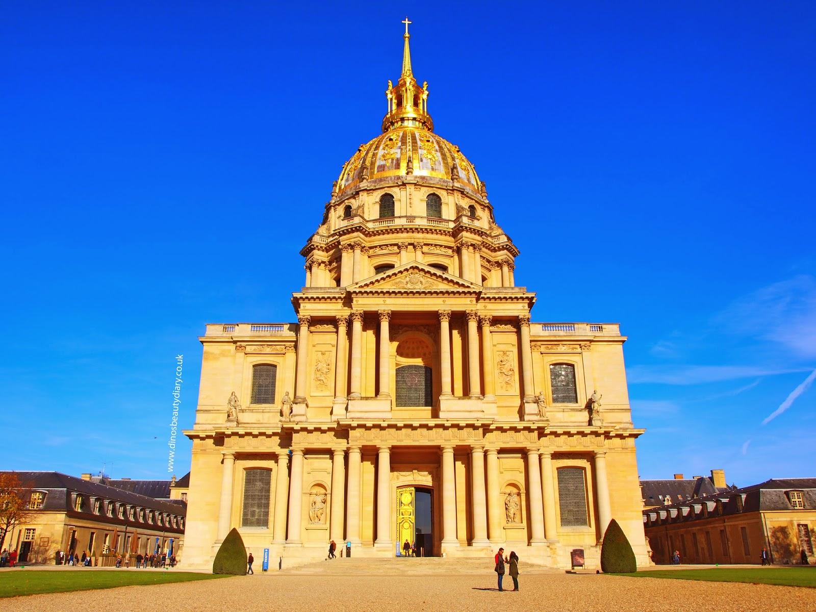 Dino's Beauty Diary - Paris Diary - Musée de l'Armée, Notre-Dame Cathederal